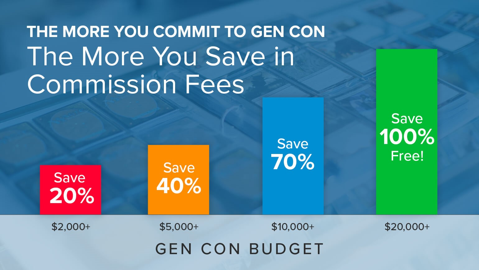 Take Advantage of Our Gen Con Buylist Kickback