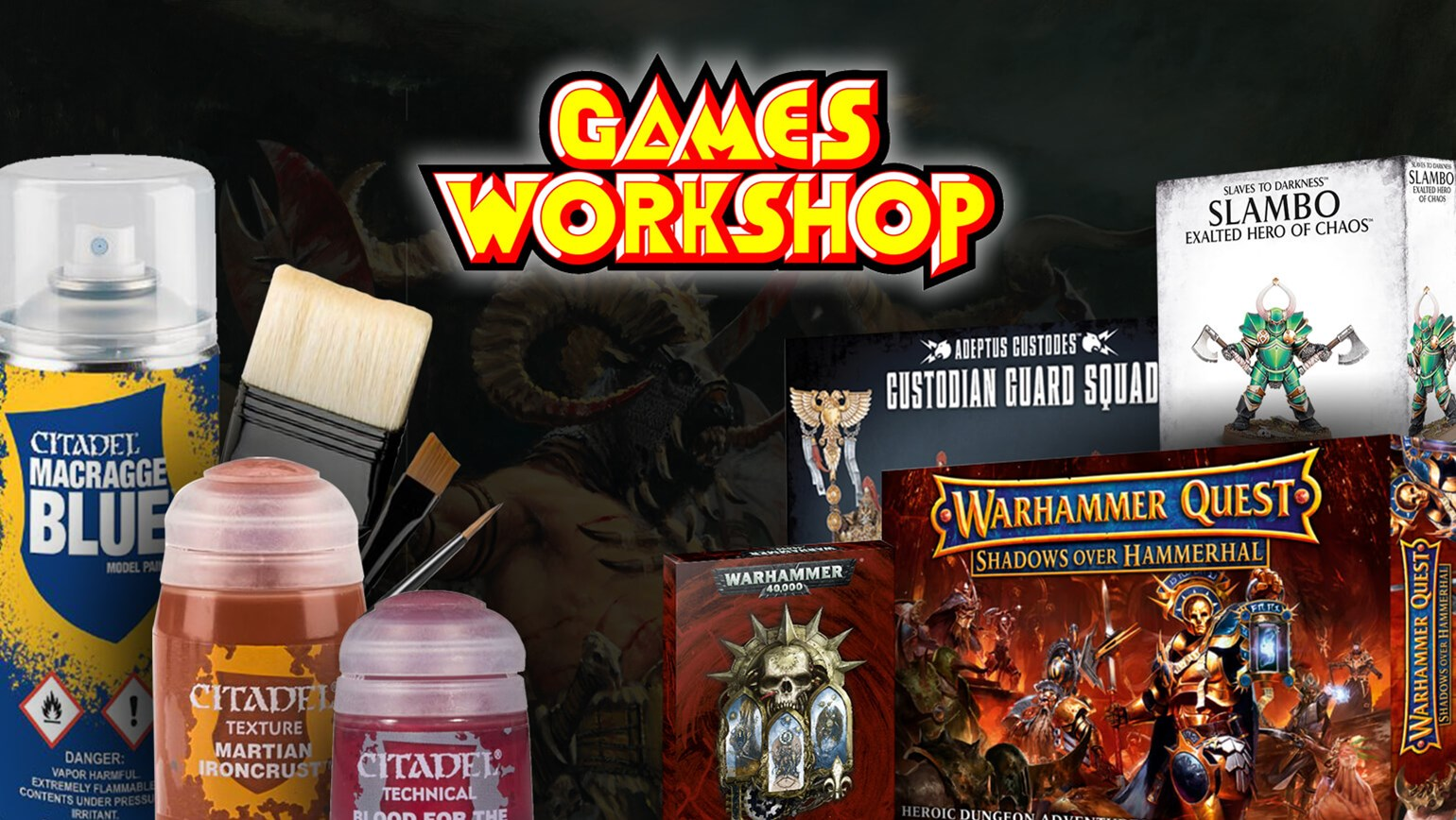 Games Workshop Products Now Available Exclusively for Pro Stores