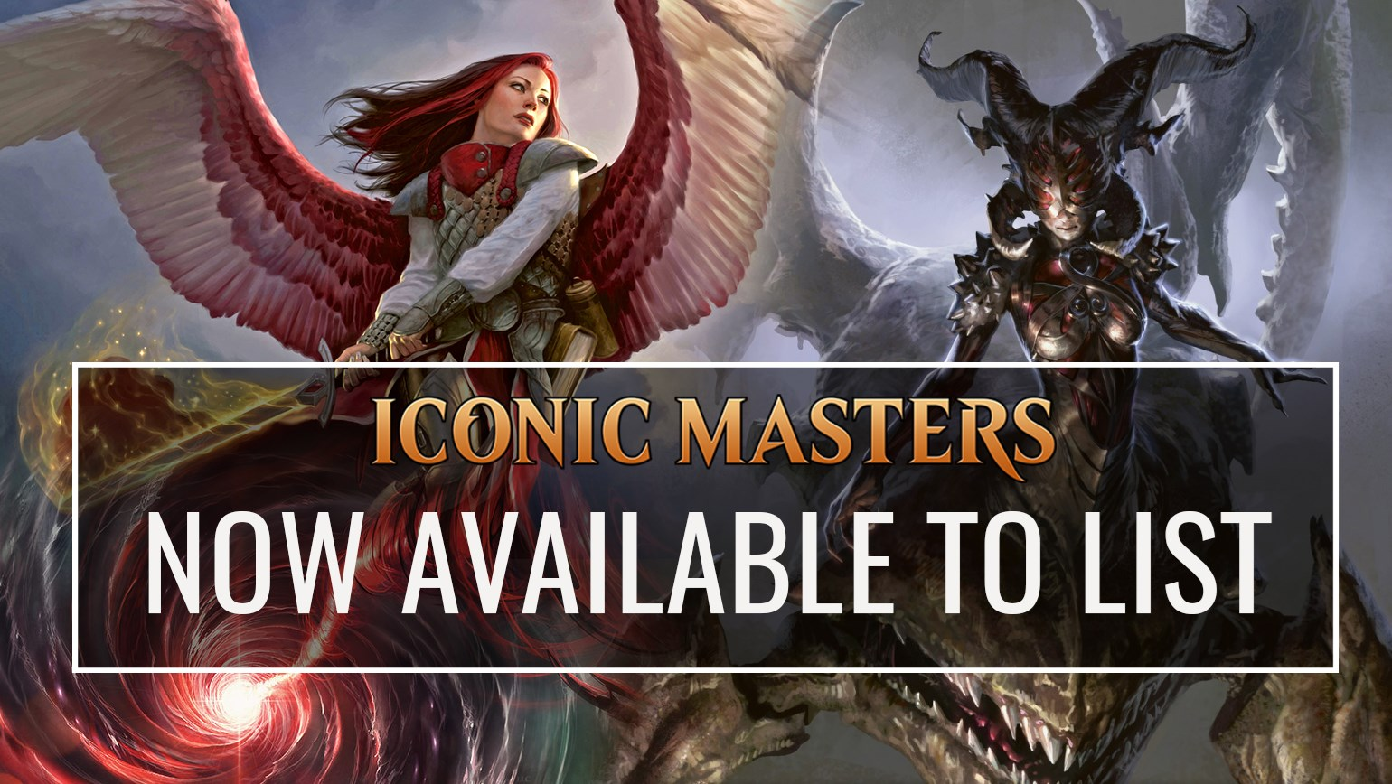 Iconic Masters Fully Available to List on TCGplayer