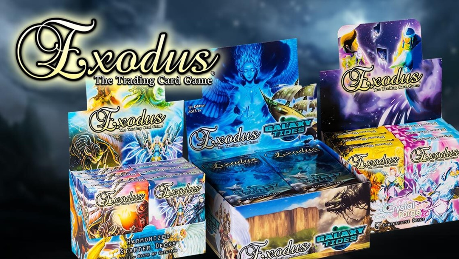 Exodus TCG by Existence Games Is Coming to TCGplayer