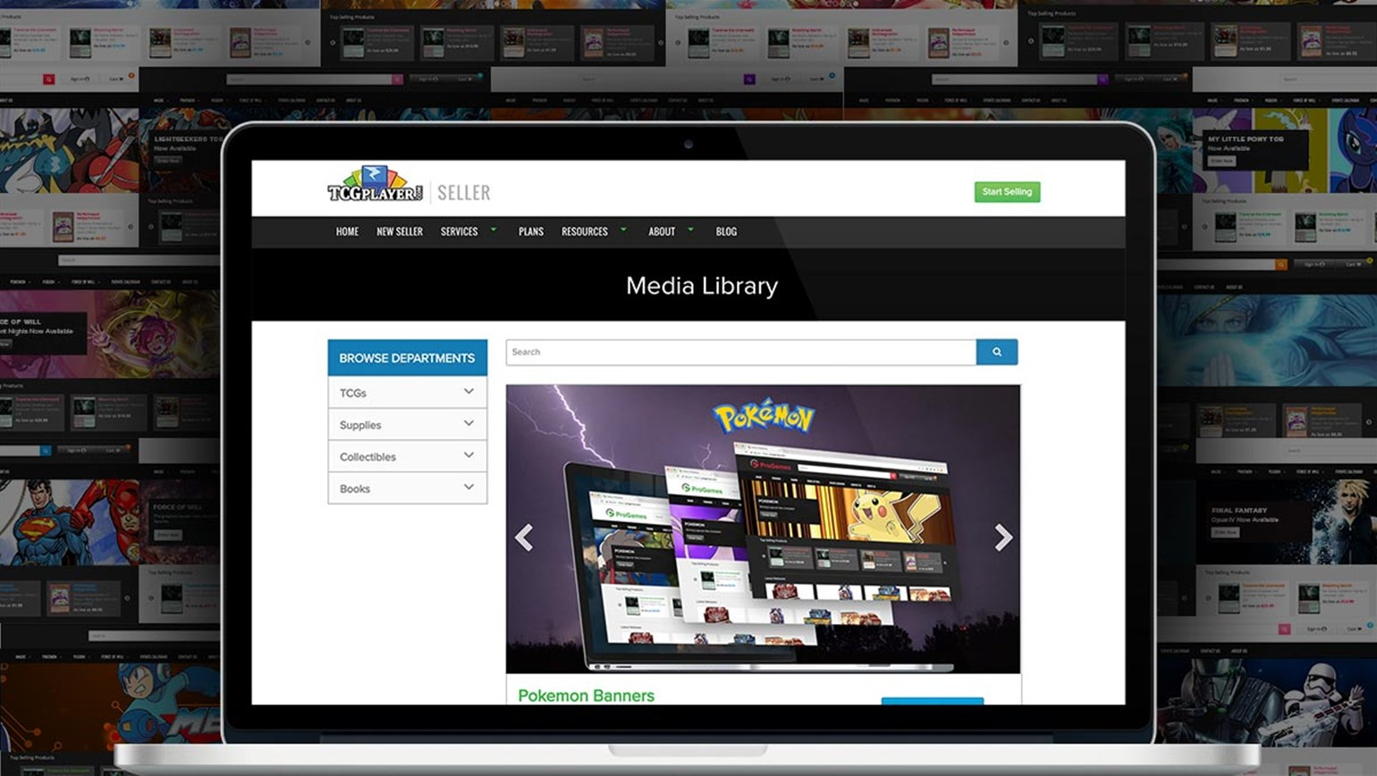 Media Library Now Available