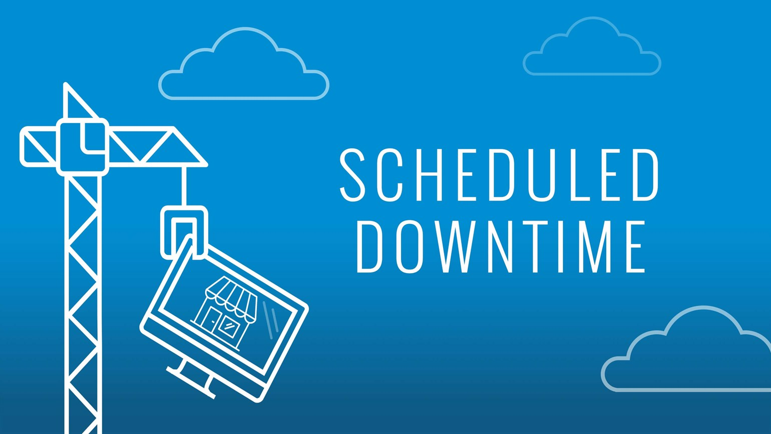 Scheduled Downtime 10/19/17