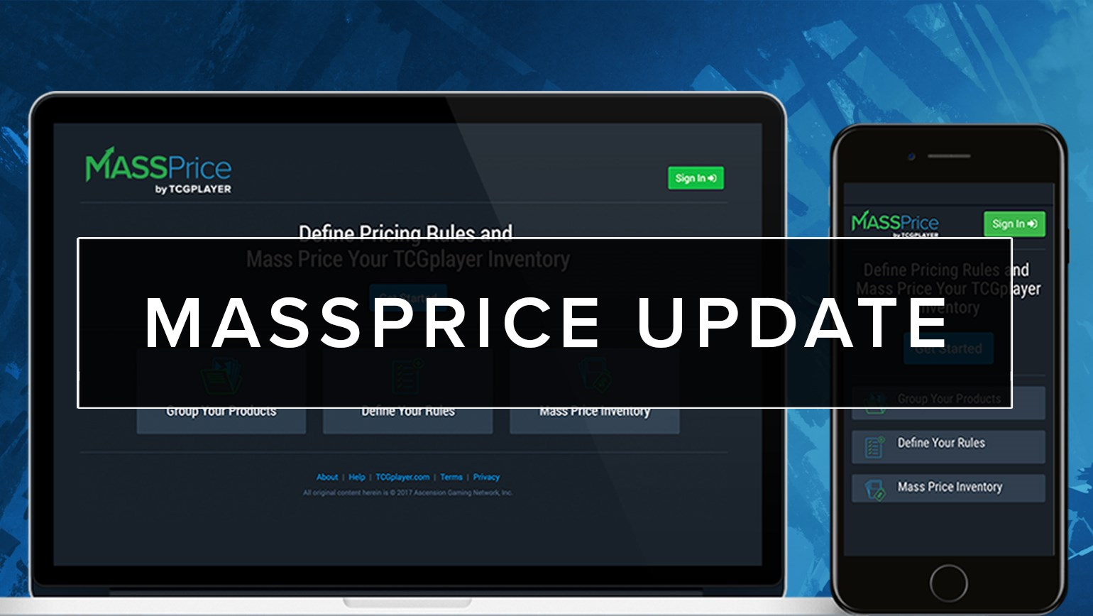 MassPrice Update 10/19