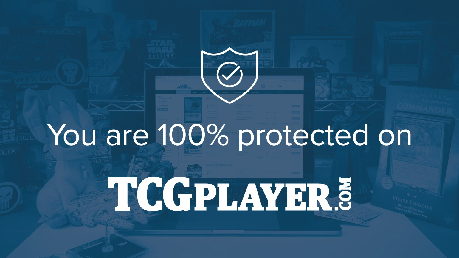 You Are 100% Protected When Selling or Buying on TCGplayer
