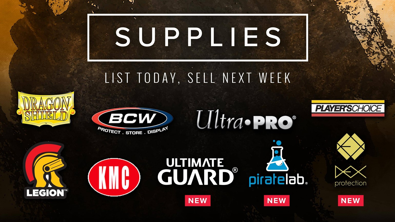 Thousands of Supplies Now Available to List