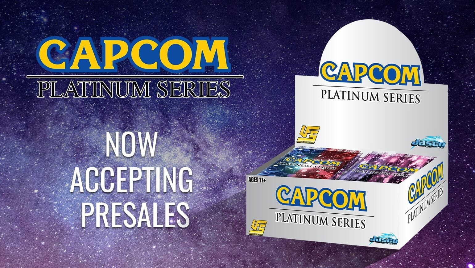 UFS Capcom Platinum Series Now Available to List