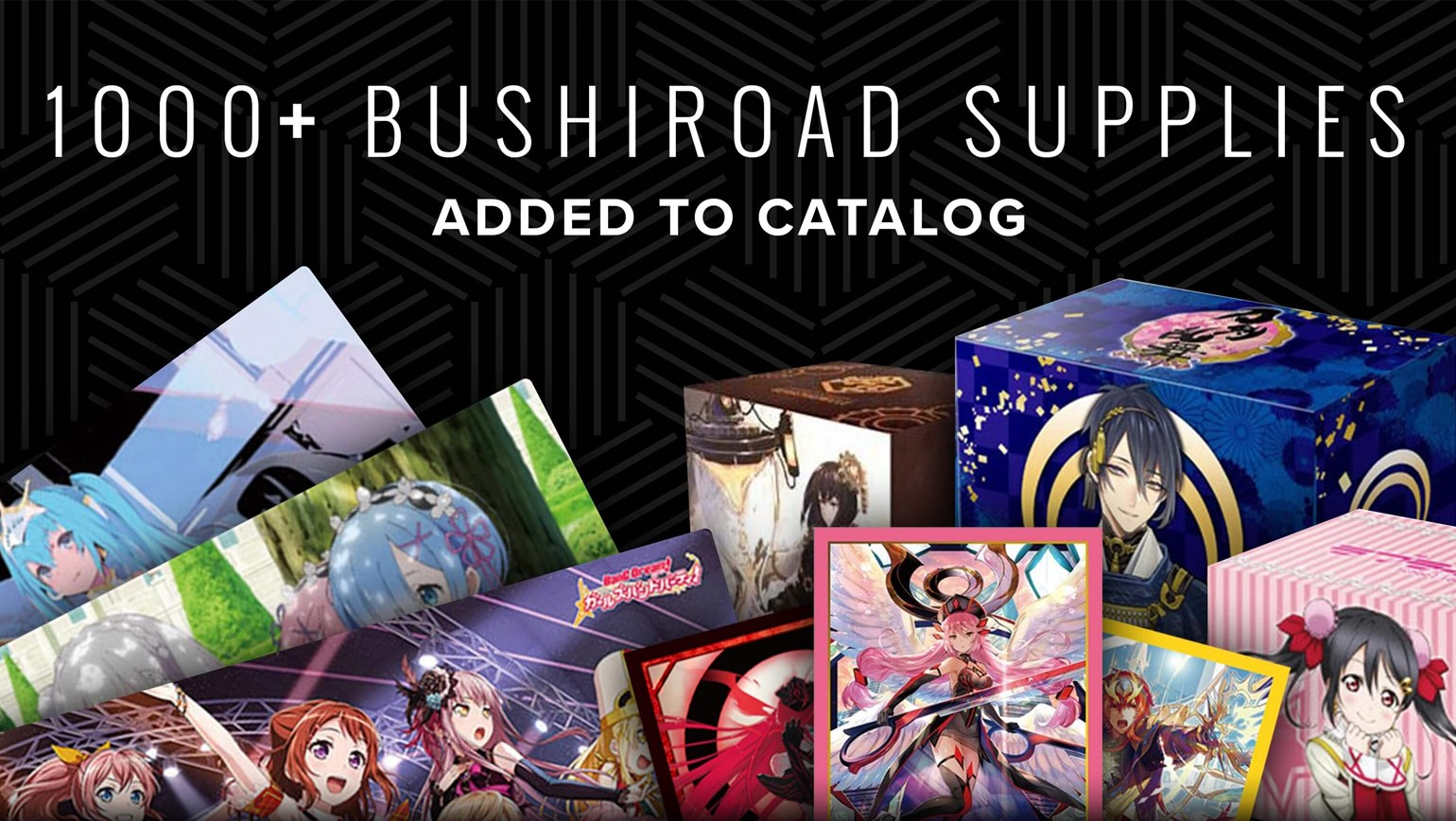 Bushiroad Supplies Now Available