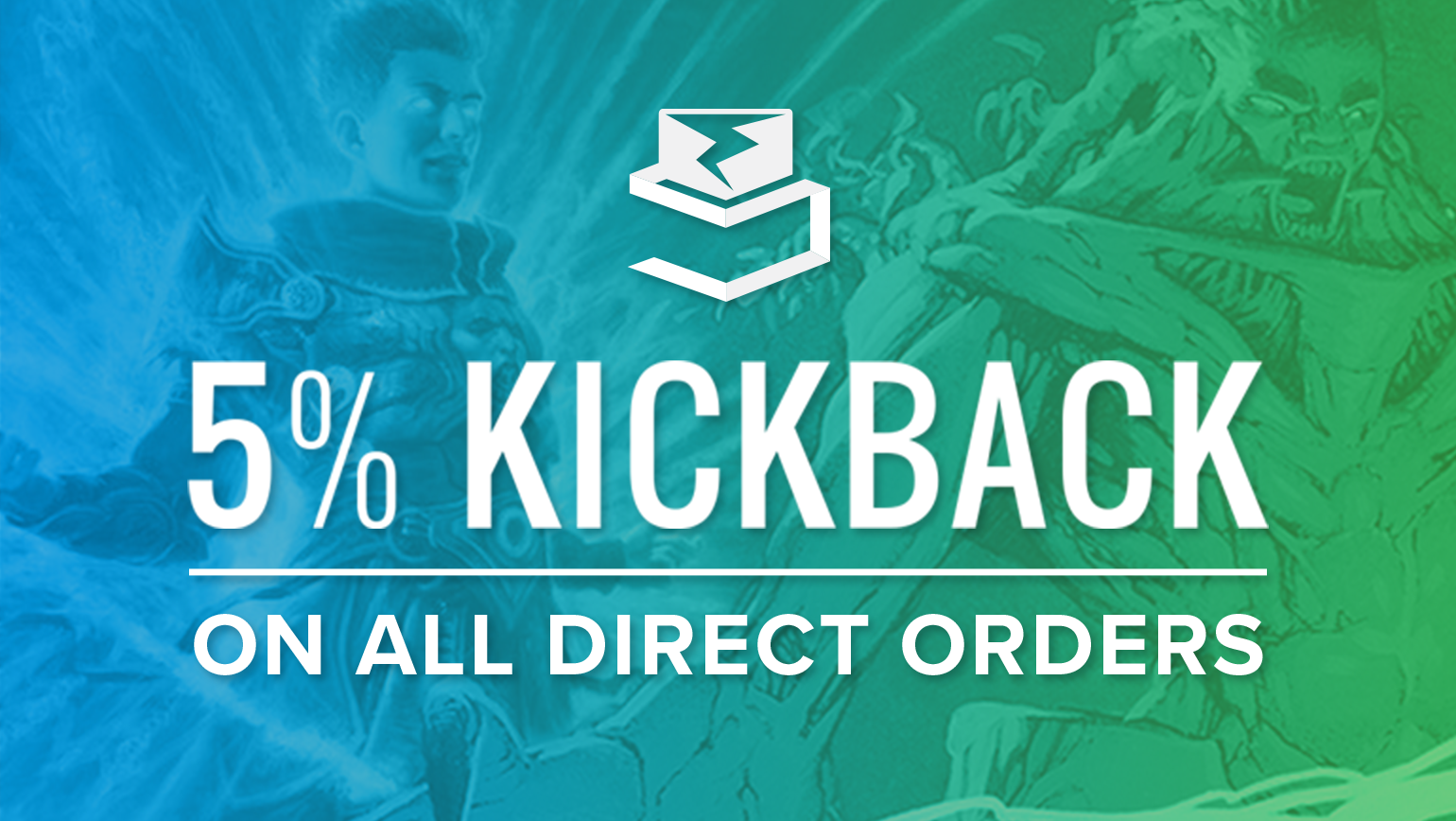 5% Buyer Kickback on All Direct Orders Going on Now