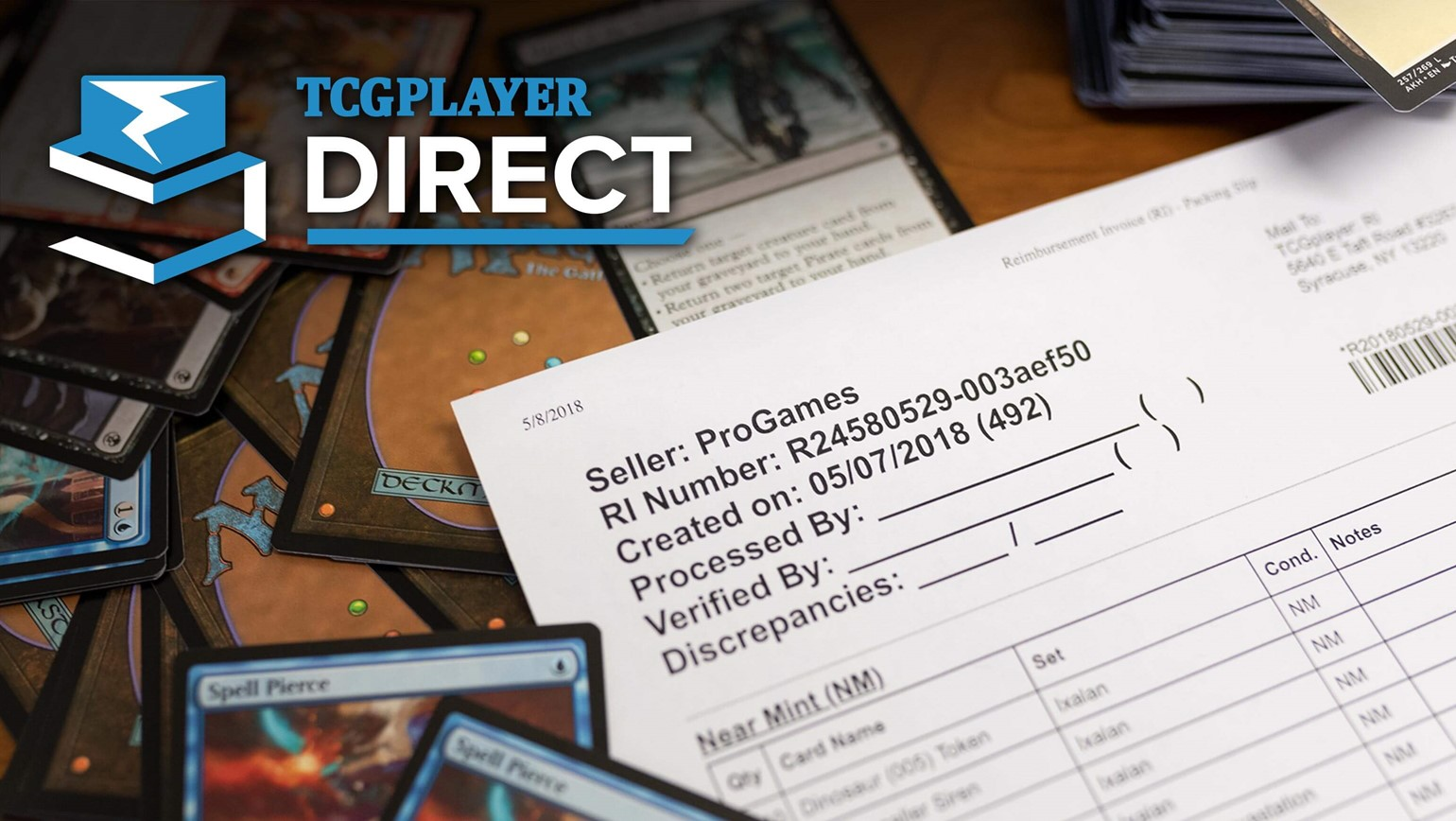 TCGplayer Direct Reimbursement Invoice Best Practices
