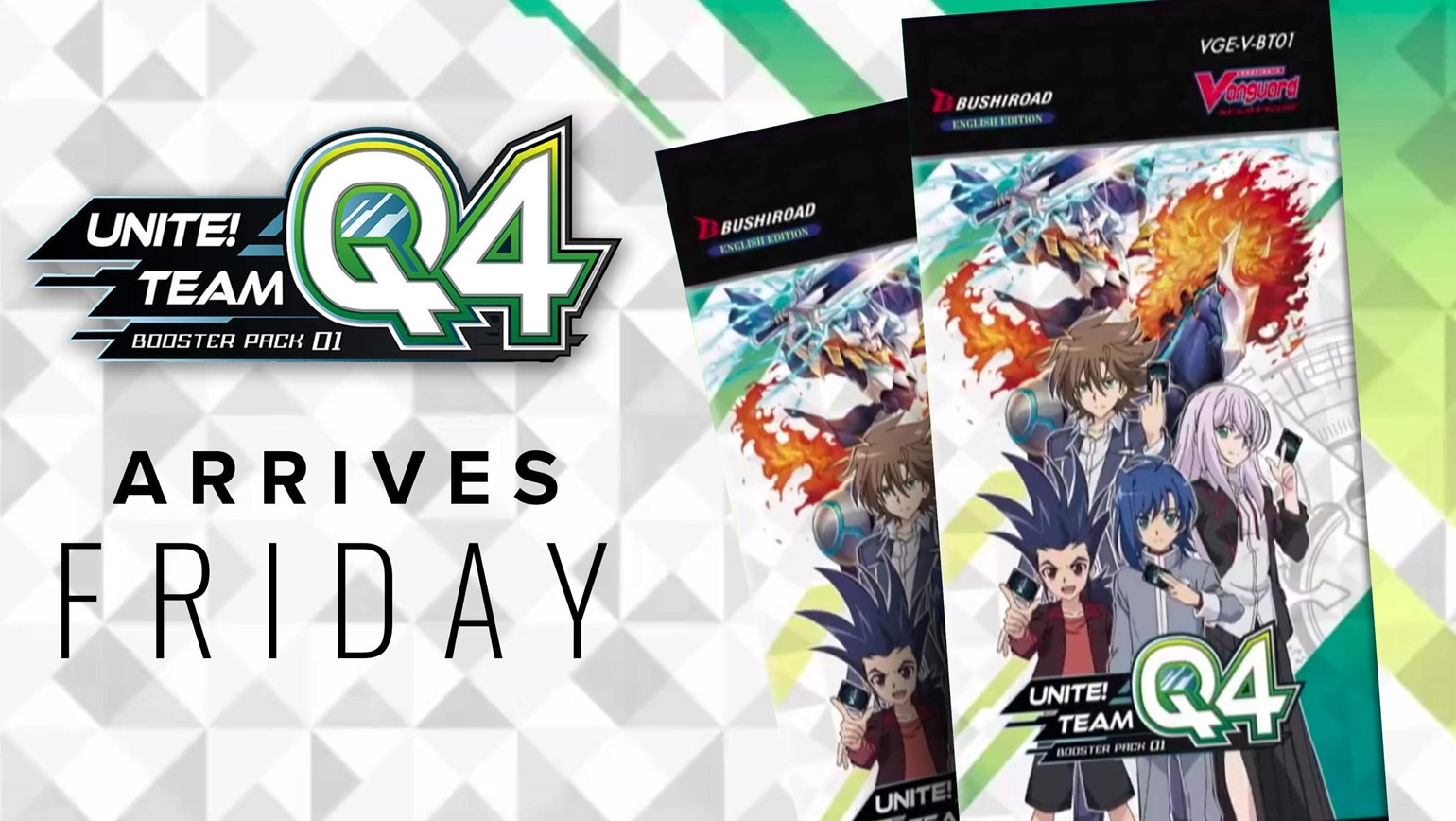 Cardfight!! Vanguard - Unite! Team Q4 Shakes Up Game with New Standard Format
