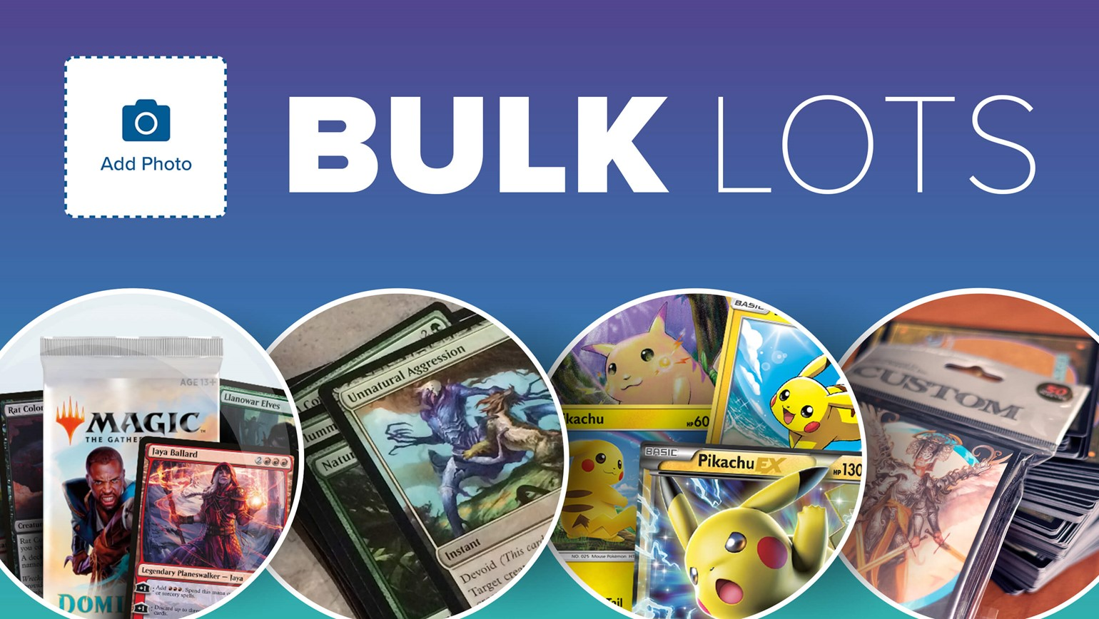 New Bulk Lots Category on TCGplayer Lets You List Collections, Full Sets and More