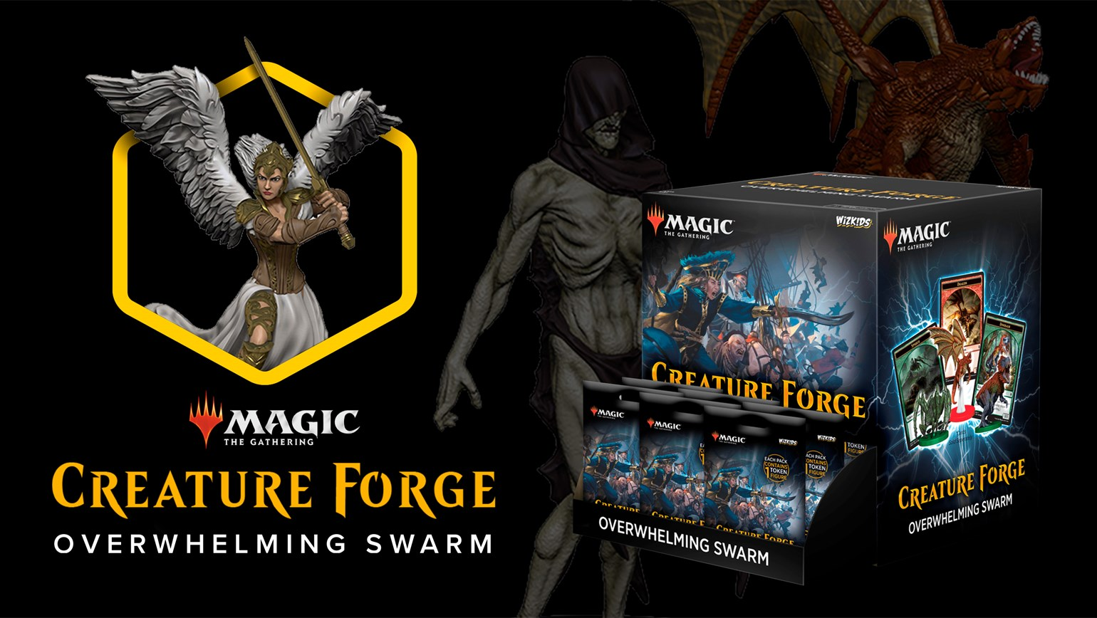 Magic: The Gathering Creature Forge: Overwhelming Swarm Added to TCGplayer Catalog