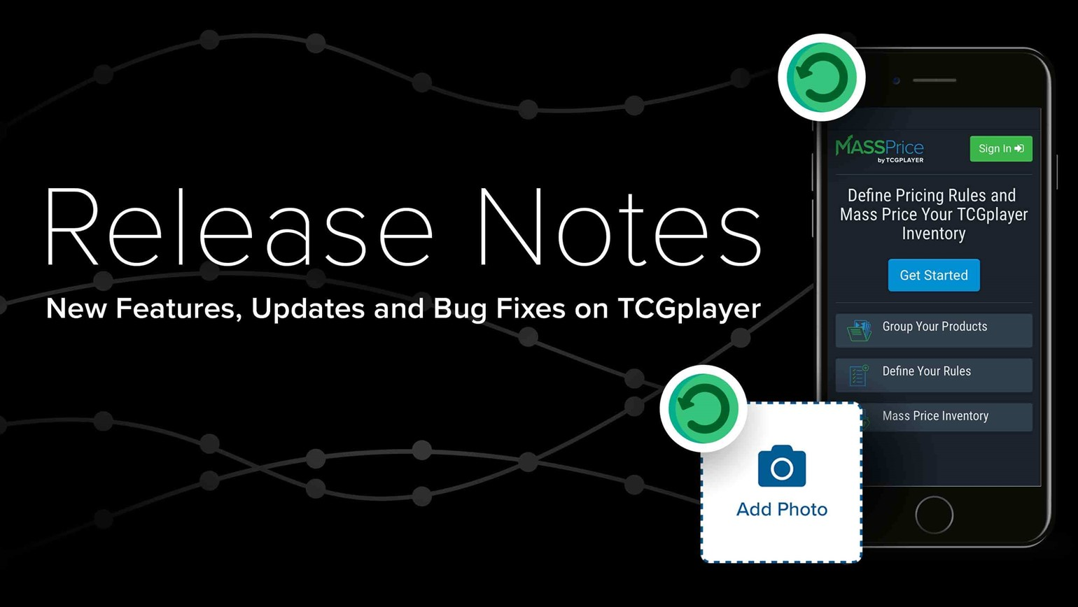New Features, Updates and Bug Fixes on TCGplayer (9/5/18)