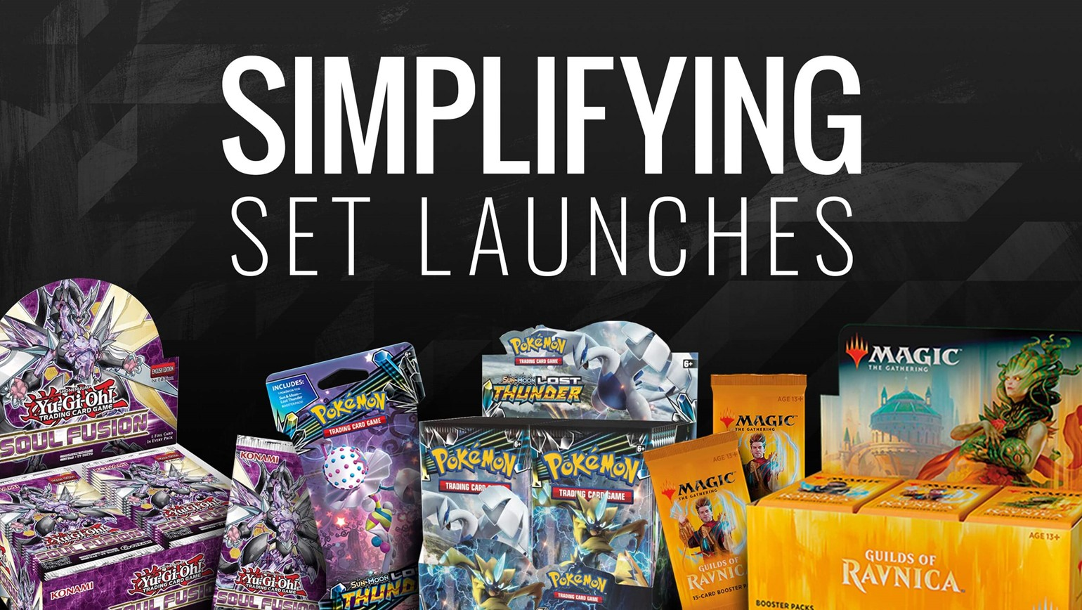 How TCGplayer Simplifies Set Launches for Your Hobby Game Store