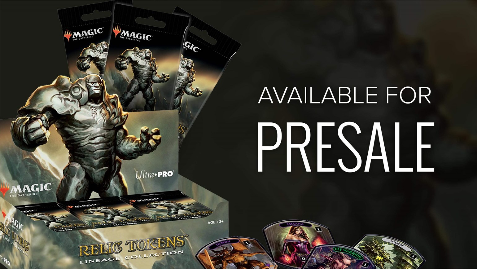 Ultra PRO Relic Tokens: Lineage Collection for Magic: The Gathering Added to TCGplayer Catalog