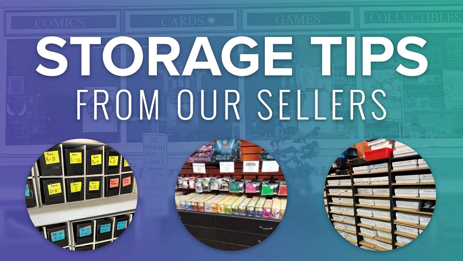 How Three Different Hobby Game Stores Organize Their Physical Inventory