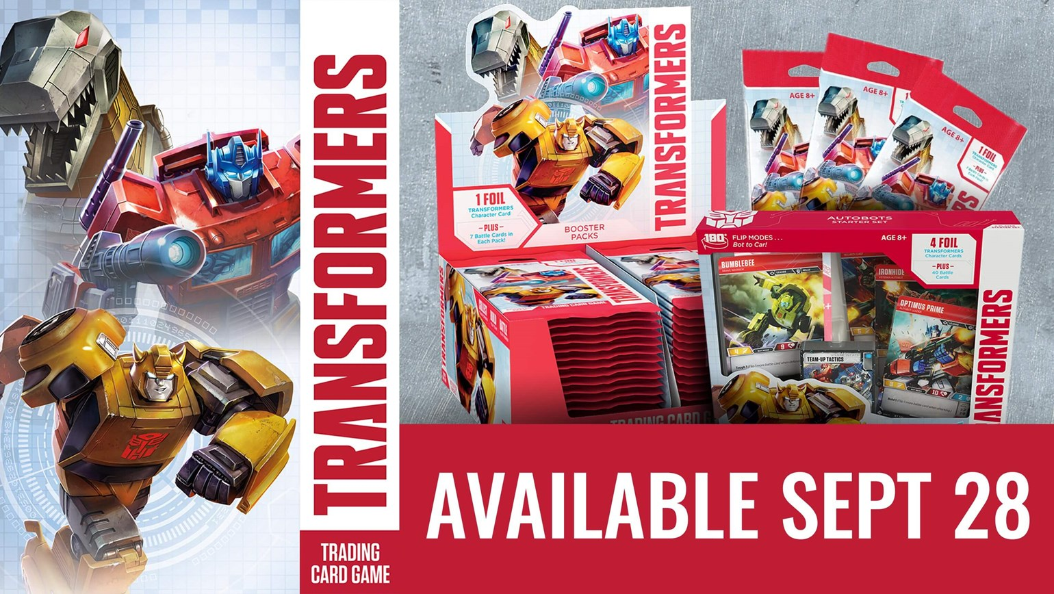Transformers Trading Card Game Added to TCGplayer Catalog