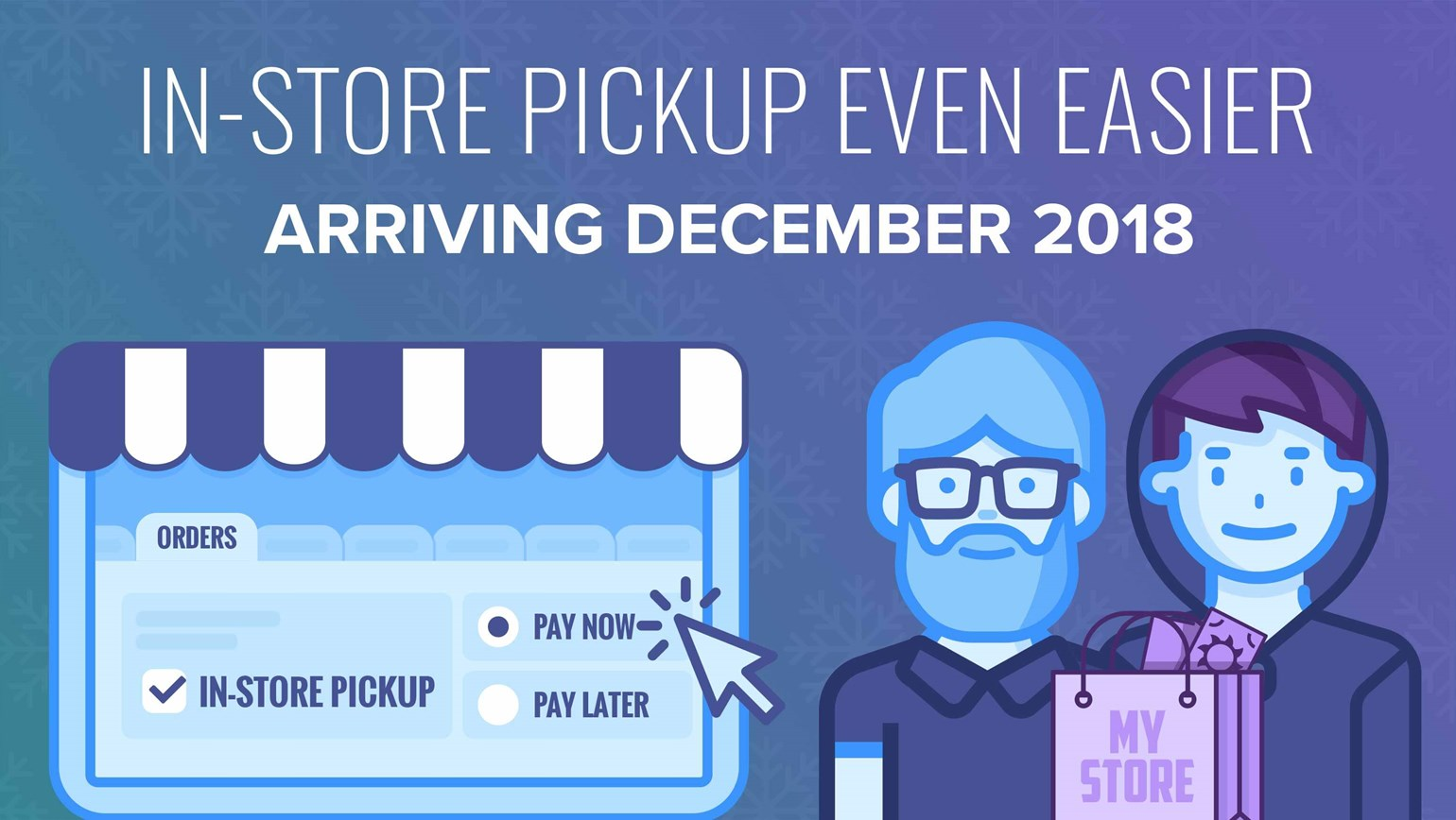 Improved Workflow for In-Store Pickup Orders Arriving December 2018