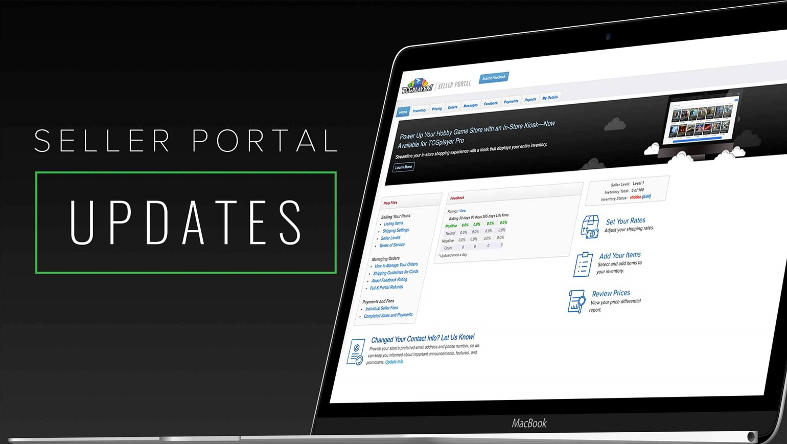 Seller Portal Updates to Improve Your Workflow