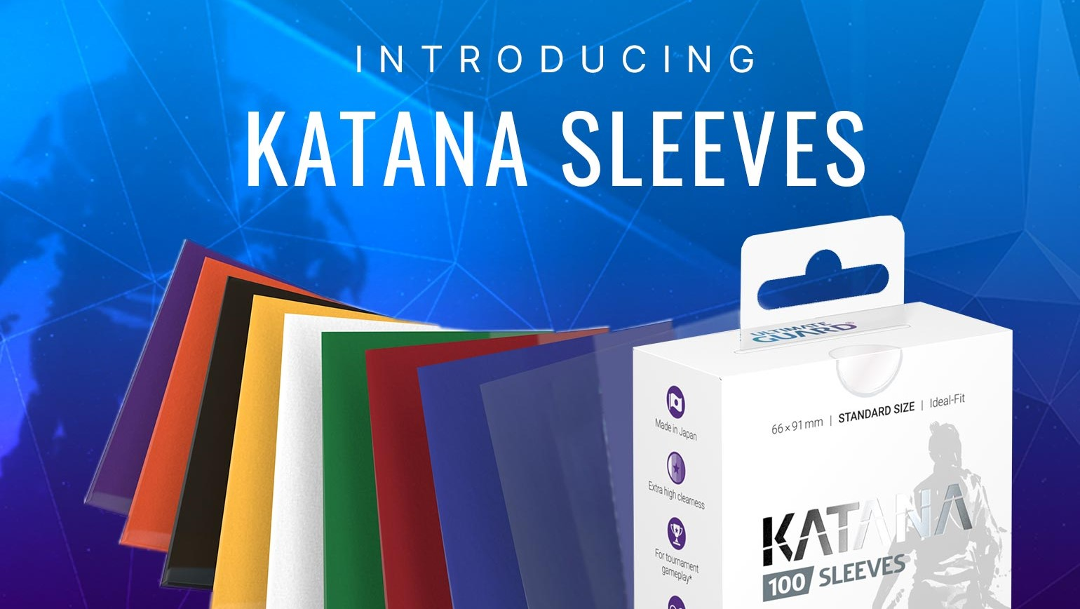 Katana Card Sleeves from Ultimate Guard Added to TCGplayer Catalog