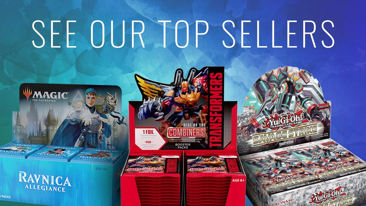 Top-Selling Products on TCGplayer.com in January 2019