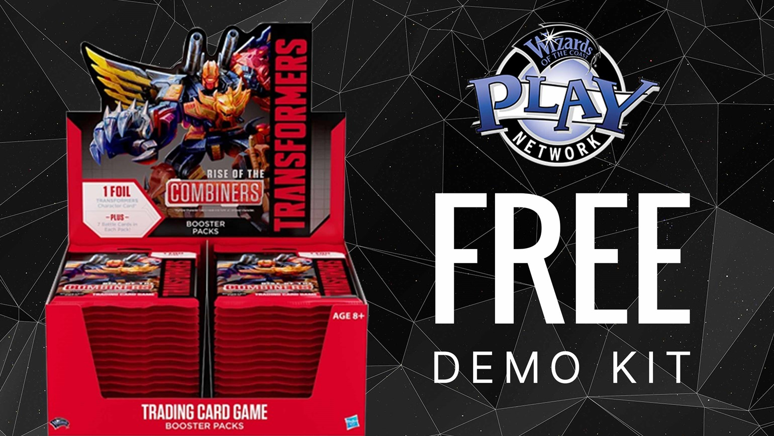 Free Transformers TCG Demo Kits Available Through the Wizards Play Network