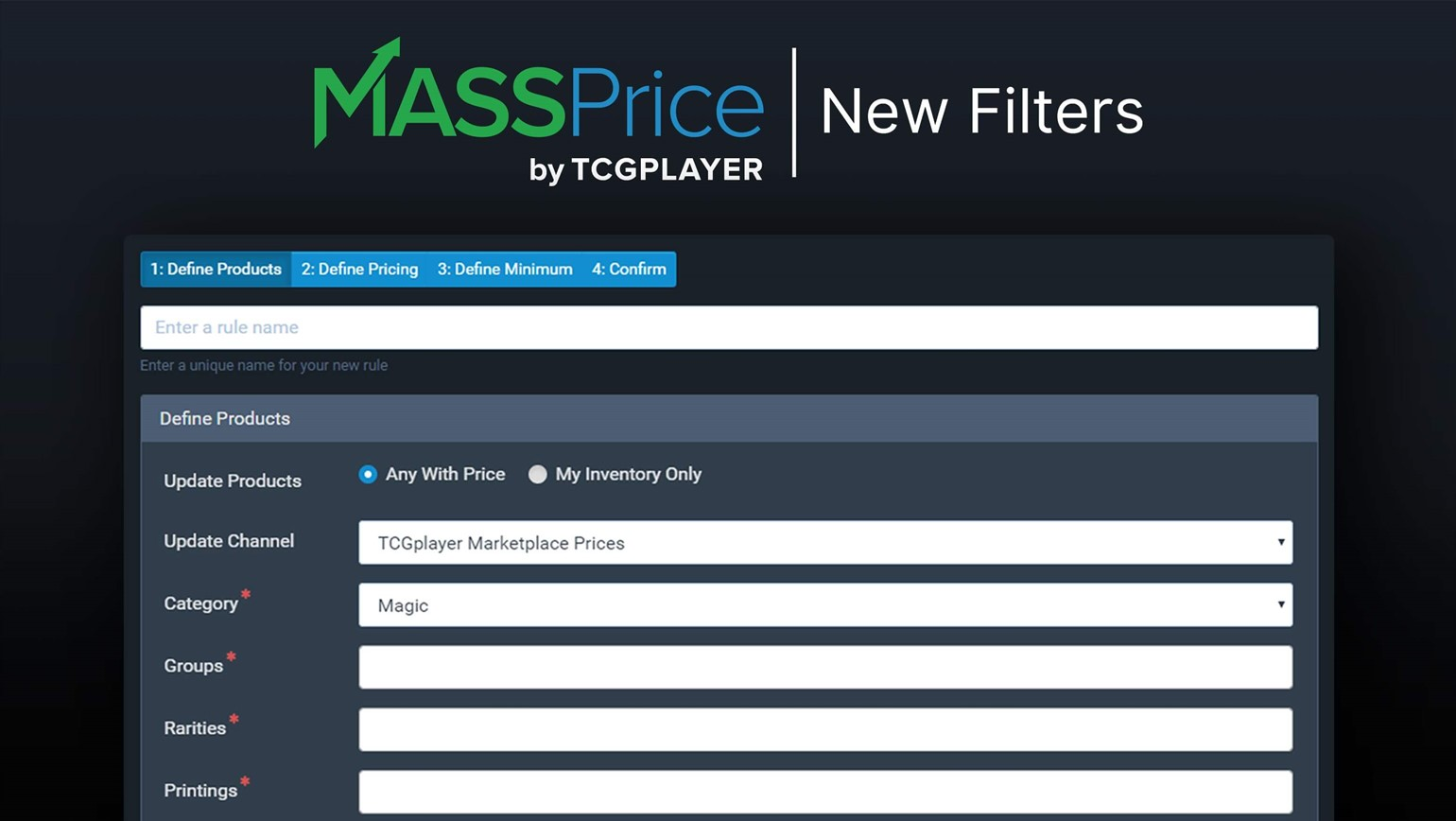Set Smarter Prices Using the New Filters for MassPrice