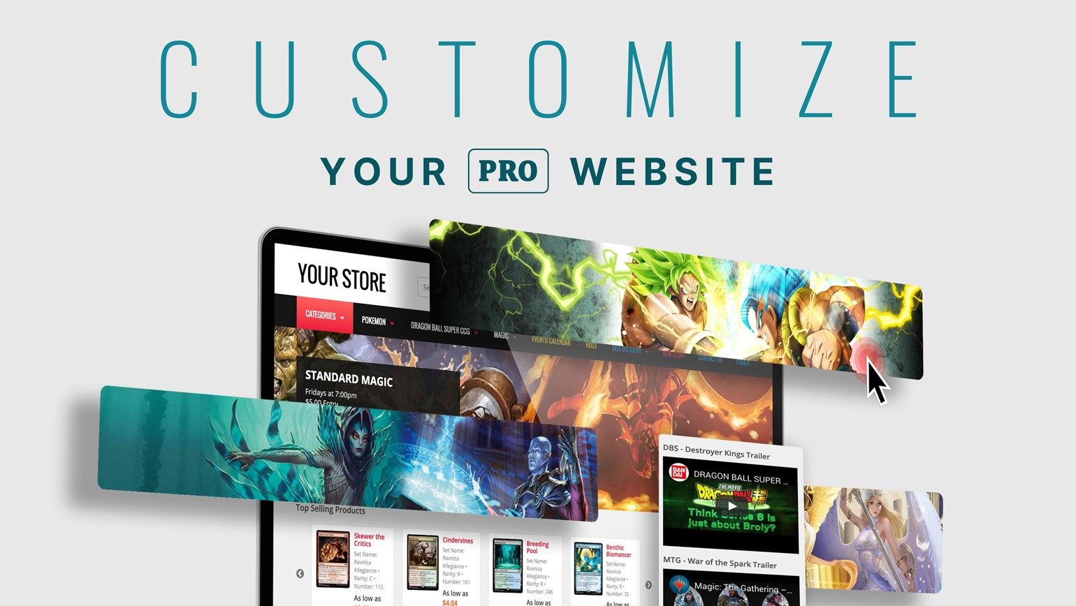 Build Your TCGplayer Website Like a Pro