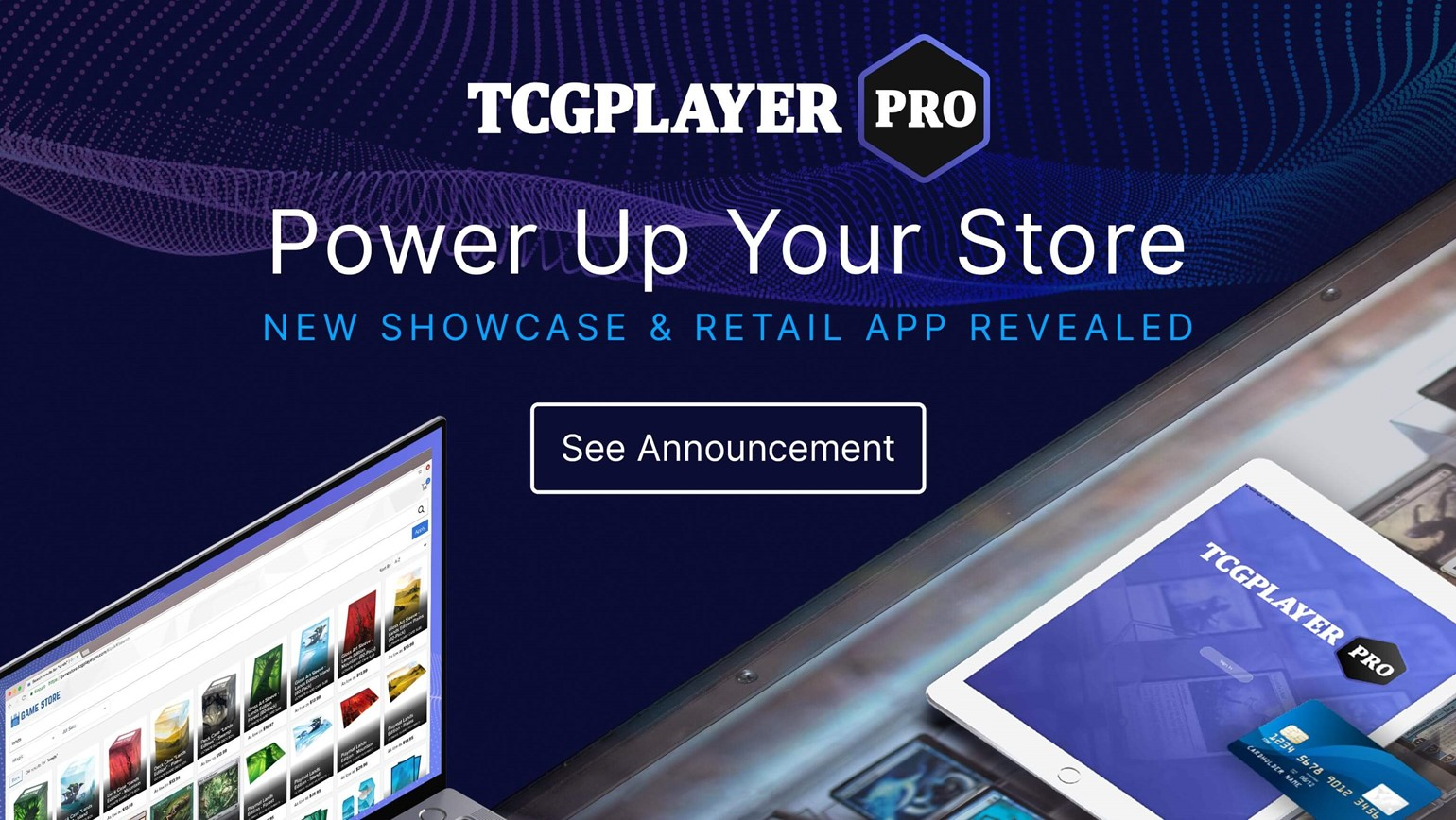 Power Up Your Store with New TCGplayer Showcase and Pro Retail App Revealed