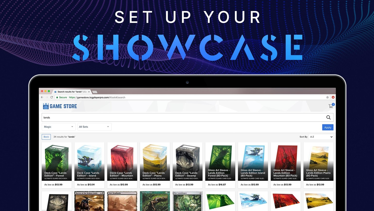 How to Set Up TCGplayer Showcase: Your In-Store Kiosk
