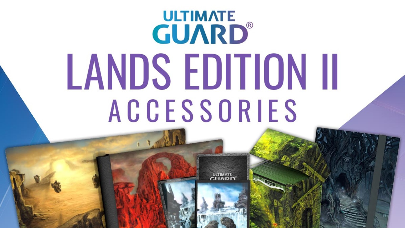 Ultimate Guard Lands Edition II Supplies Added to TCGplayer Catalog