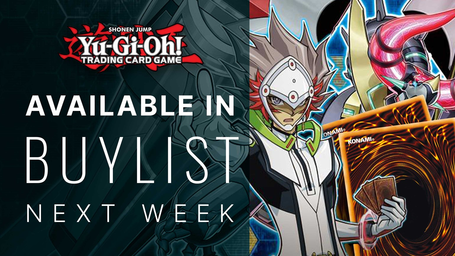 Yu-Gi-Oh! Coming Next Week to Buylist on Your TCGplayer Pro Showcase and Website