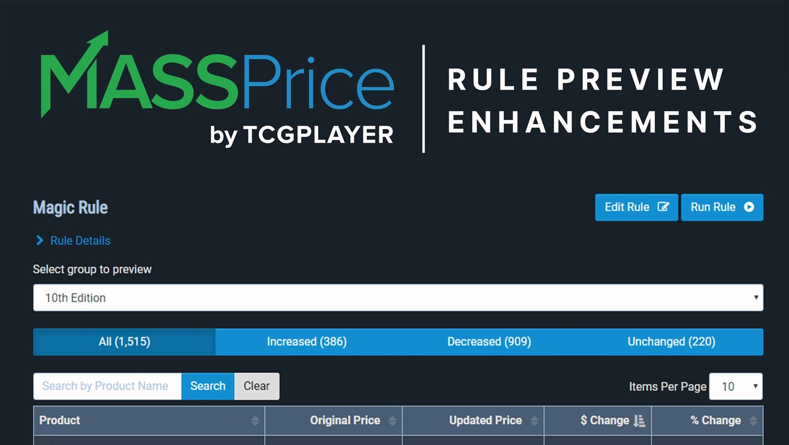 New MassPrice Updates Make Previewing Price Rules Even Easier