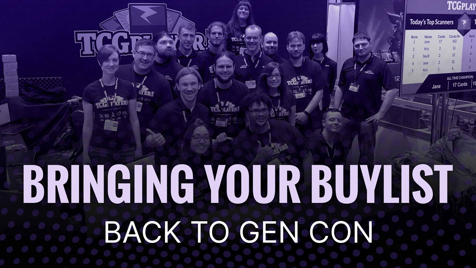 Get Ready: We're Taking Your Buylist to Gen Con