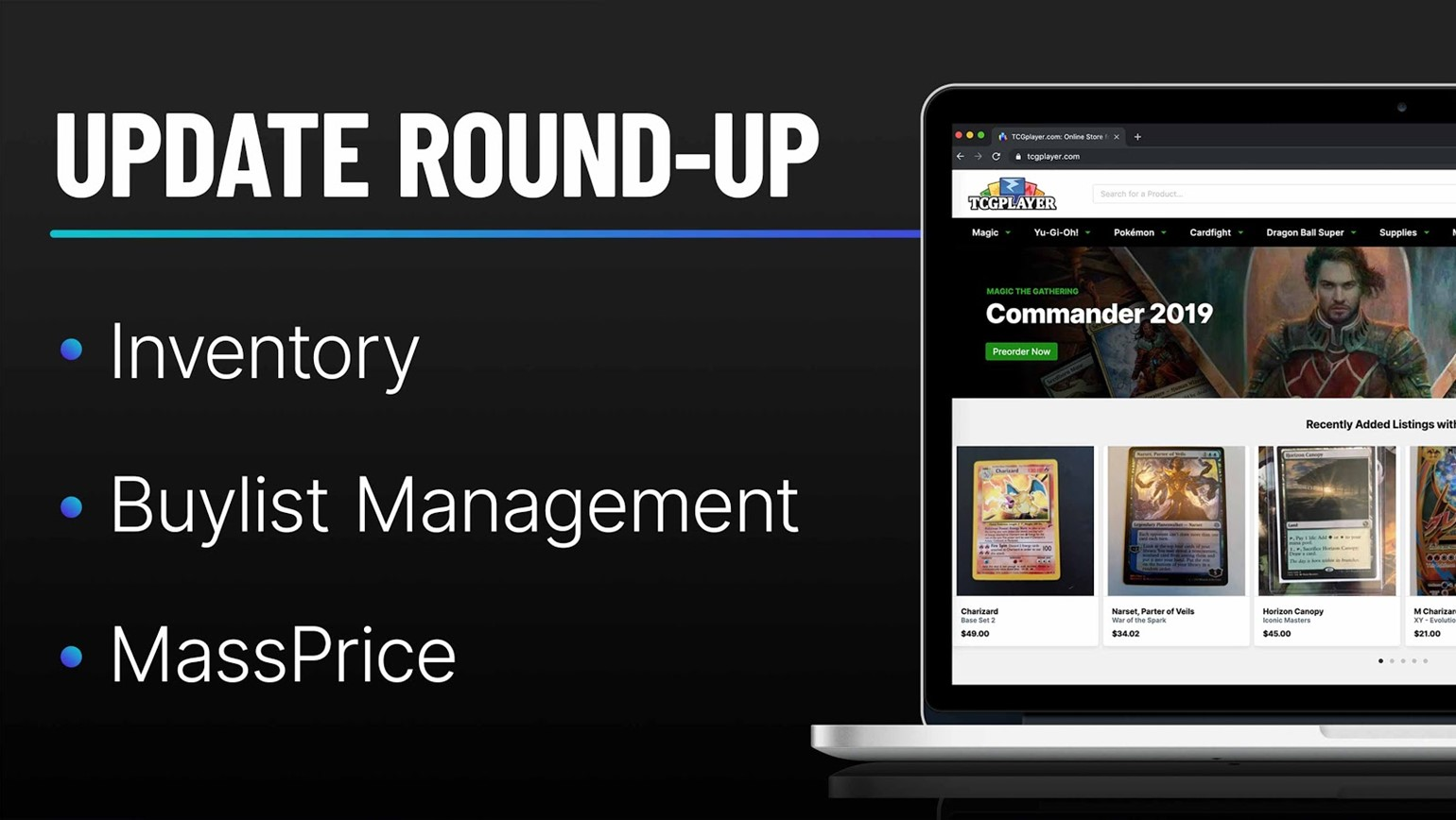 Update Round-Up: Inventory, Buylist & MassPrice Enhancements