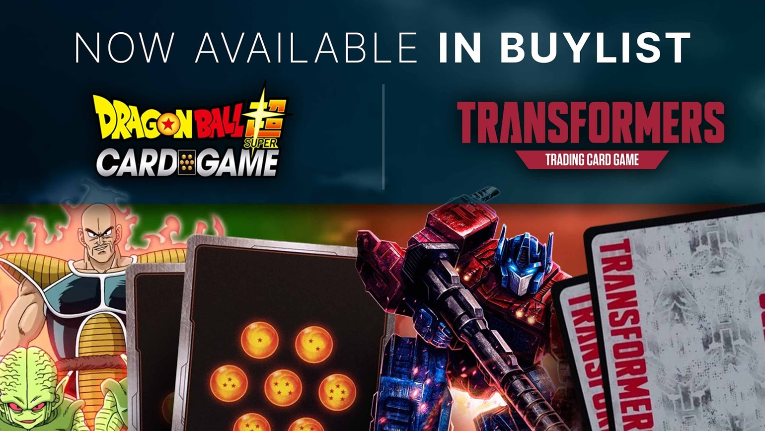 Transformers and Dragon Ball Super Join the Pro Buylist