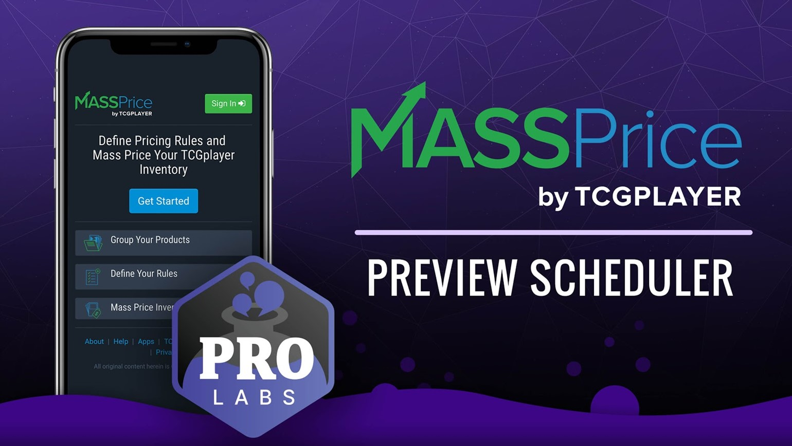 Sellers in Pro Labs Improve MassPrice Scheduler