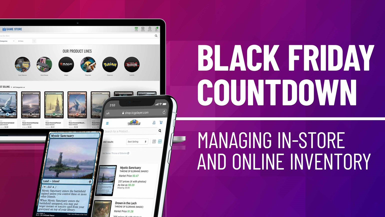 Black Friday Countdown: Managing In-Store and Online Inventory