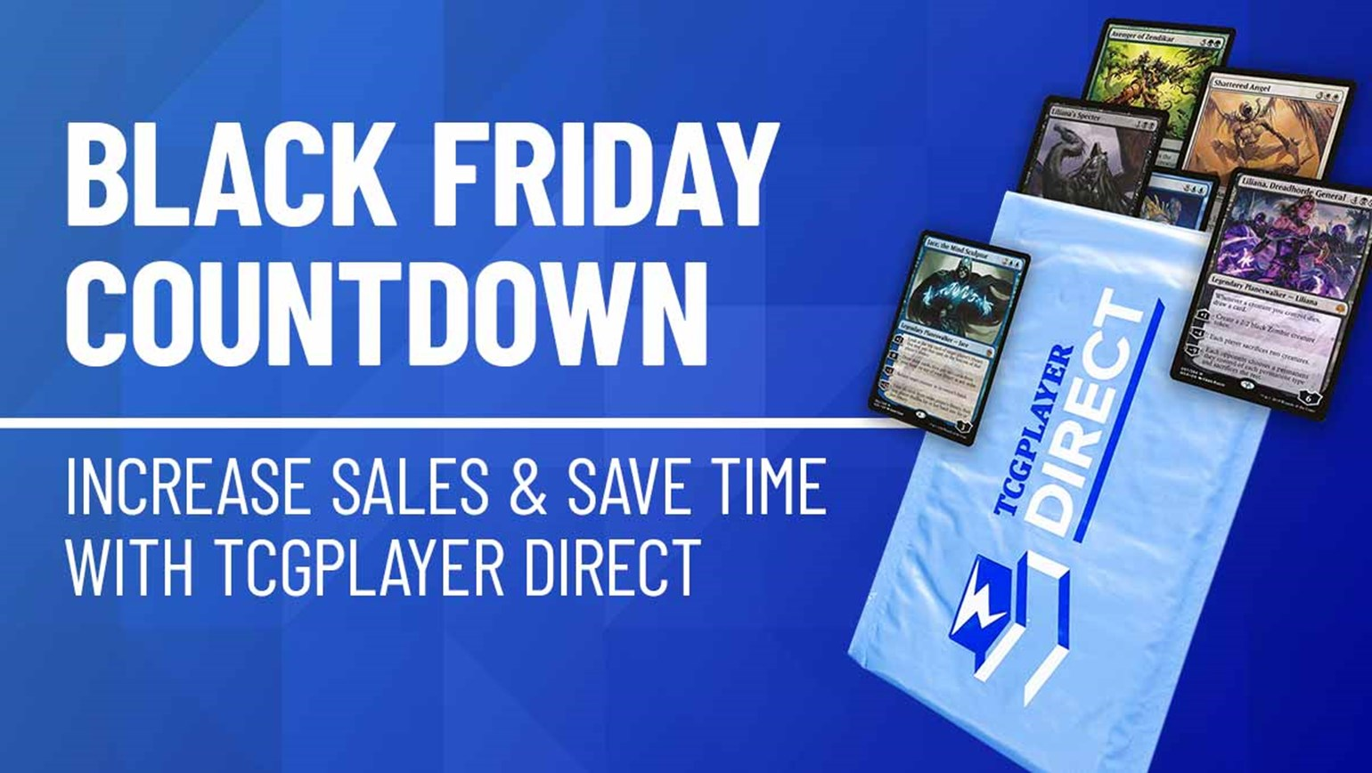 Black Friday Countdown: Increase Sales and Save Time with TCGplayer Direct