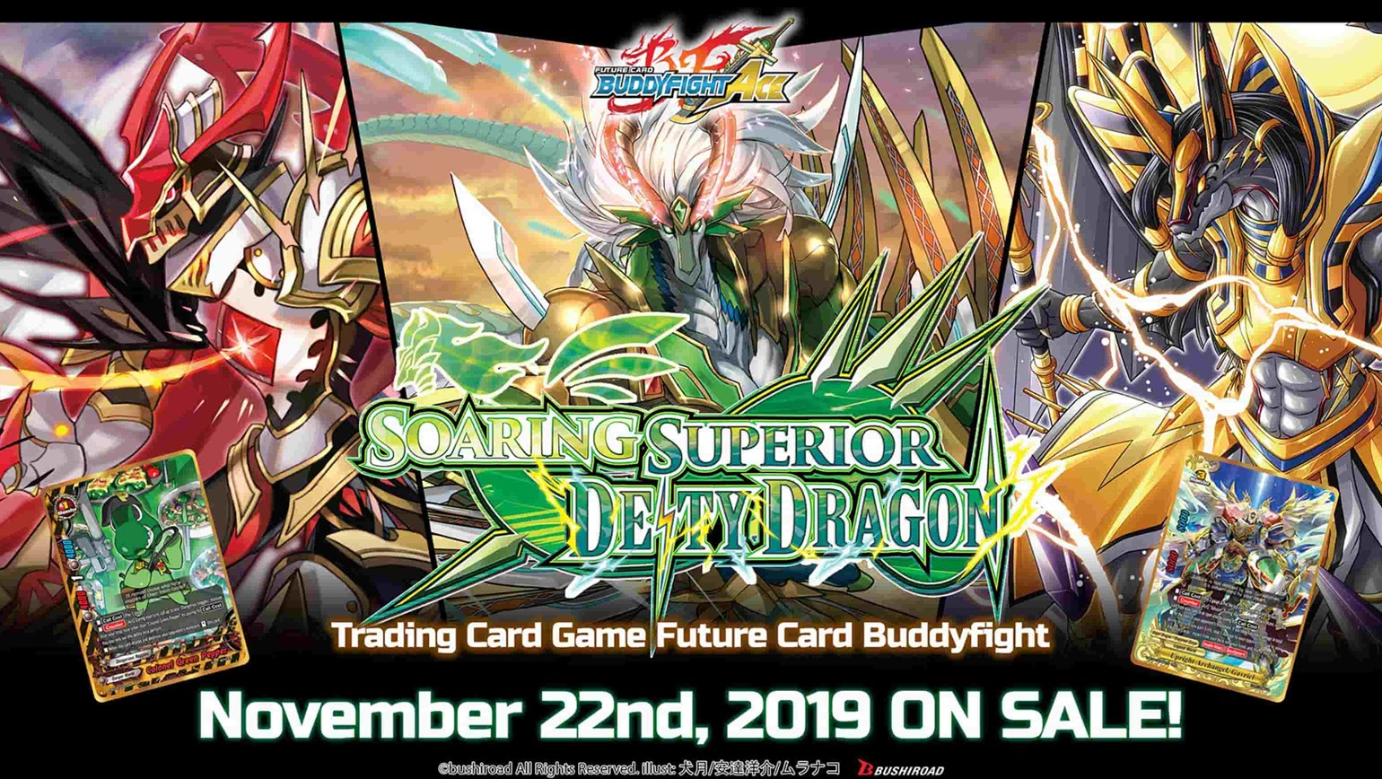 Future Card Buddyfight: Soaring Superior Deity Dragon Coming November 22th