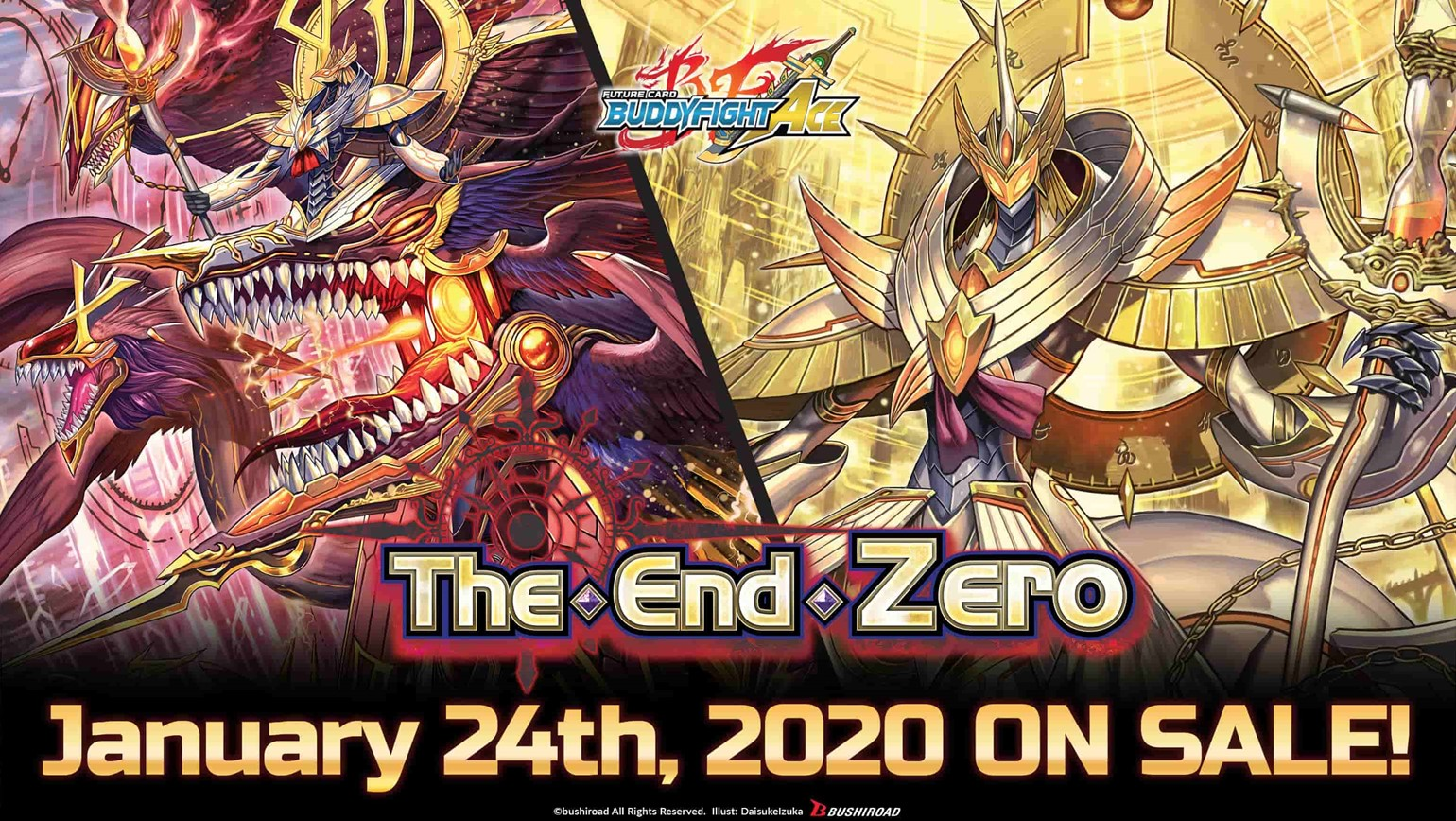 Future Card Buddyfight Ace Special Series Vol. 3 The End Zero Coming January 24th