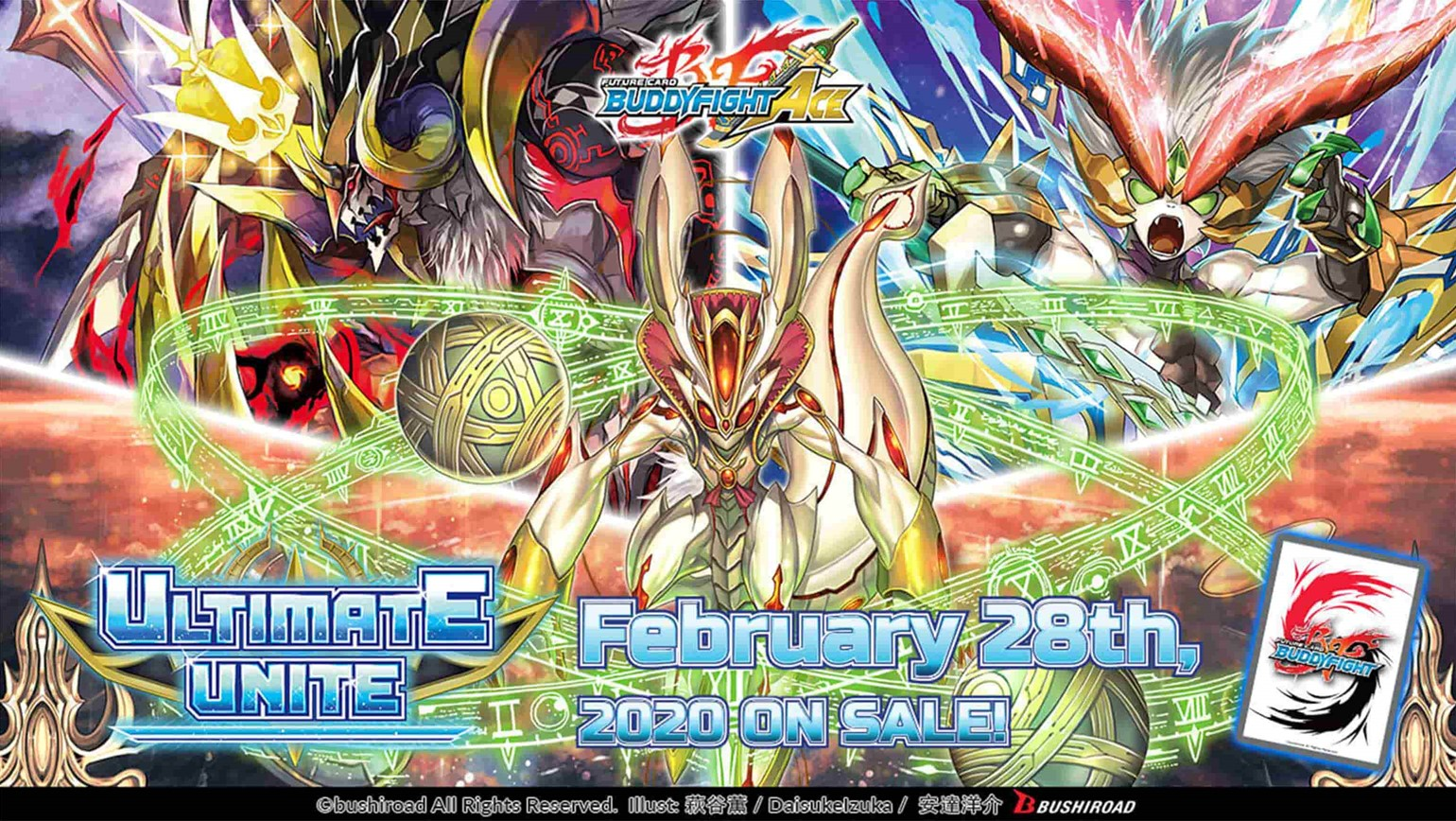 Future Card Buddyfight Ace Climax Booster Vol. 3 Ultimate Unite Coming February 28th