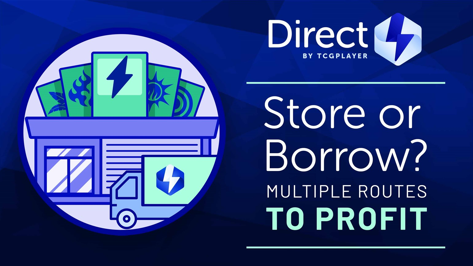 Store or Borrow? Multiple Routes to Profit
