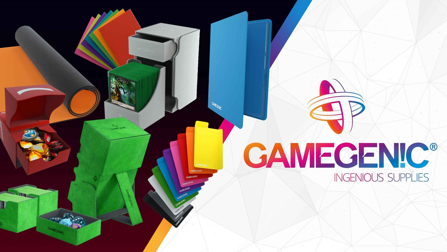 Gamegenic Supplies Now Available on TCGplayer
