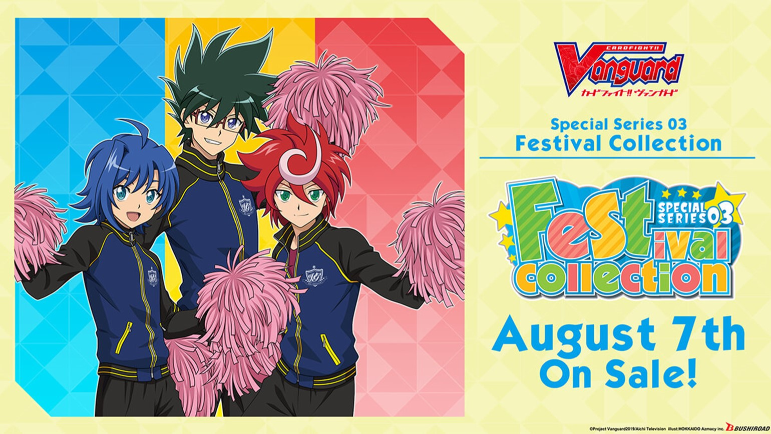 "English Edition Cardfight!! Vanguard Special Series 03 ""Festival Collection"" Coming August 7th"