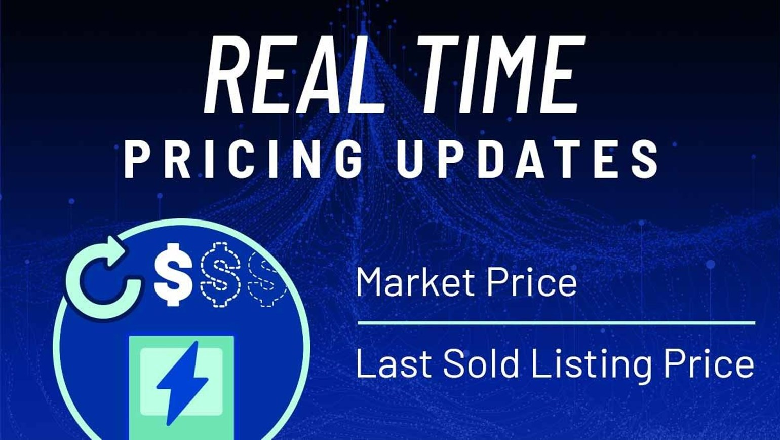 Streaming of Market Price & Last Sold Listing
