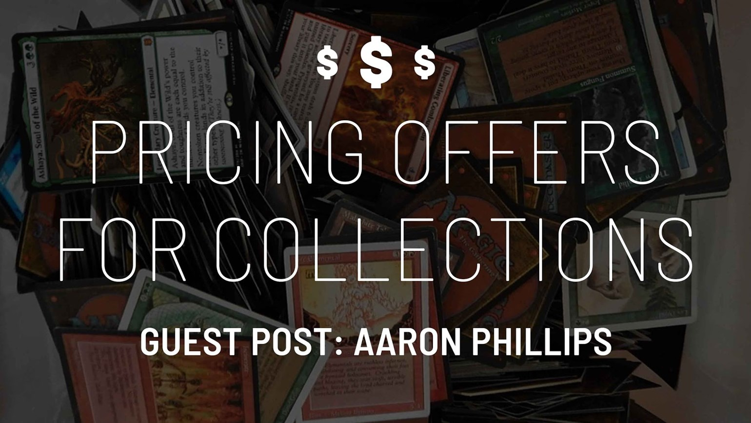 How to Price Offers for Collections