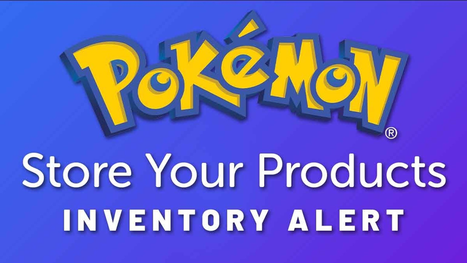 We've Added More Pokémon To Store Your Products