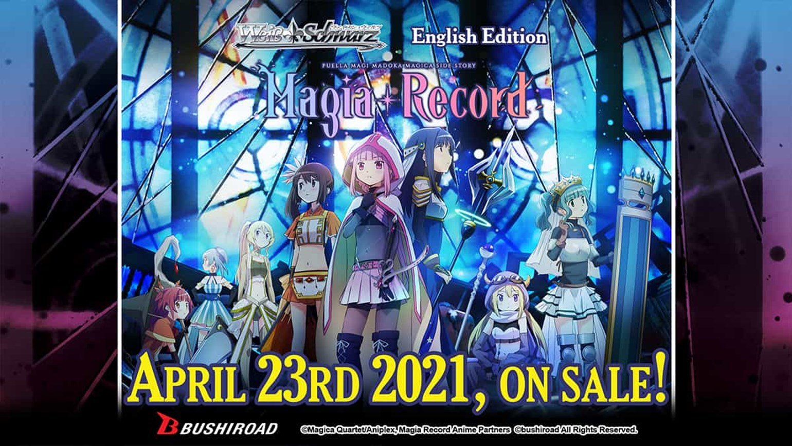 "Weiss Schwarz: TV Anime ""Magia Record: Puella Magi Madoka Magica Side Story"" On Sale April 23rd!"